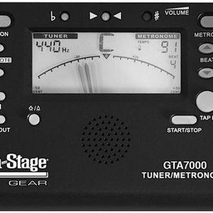 TUNER ON STAGE GTA7000 METRONOME